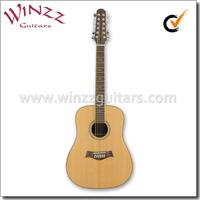 [WINZZ] Solid Spruce 12 String Acoustic Guitar (AFM30-12)