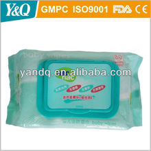 Sold well baby wet wipe with aloe and vit E