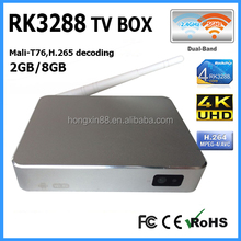 Best RK3288 Quad Core 1.8GHz android4.4 HD4K egreat quad core android 4.2 smart tv box u8