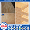 4'*8' rubberwood finger jointed laminated lumber board for decoration made by LULIGROUP China manufacture since 1985