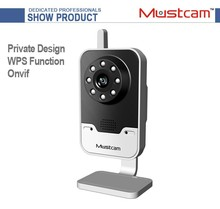 Mustcam WiFi Camera IP/IP Camera with Night Vision Onvif WPS