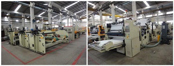 ZQ-III-D Industrial paper roll/jumbo roll paper slitting rewinding machine