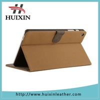 PU leather pc case with card holder for 7 inch tablet