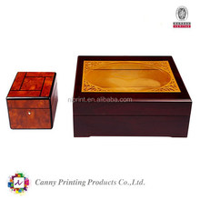 Fashion design and hot sale pine wooden box for Craft, Jewelry, Tea, Exhibition , wine, beverage