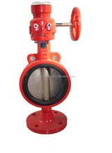 Signal Butterfly Valve for Fire Prevention and control