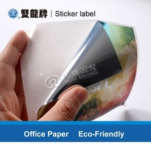 Customized Peelable Laminated Rolled Self Adhesive Paper Sticker