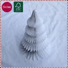 White Honeycomb craft christmas decorations