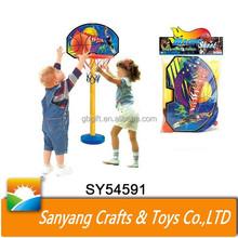 children basketball pole hoop stand toy basketball hoop sport