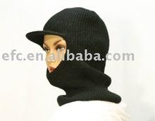 2012-2013 Winter Fashion Knitted Acrylic Black Ski Mask