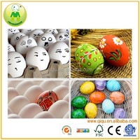 Children's Simulation Magic Wooden DIY Painting Egg