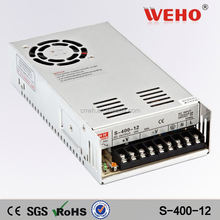 High power ac/dc electric led driver 400W 12v module power supply