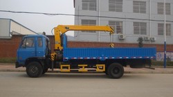 6.3T Mobile Telescopic Boom Truck Mounted Crane Manufacturers
