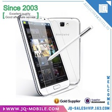 Mobile phone accessory 9H 0.33MM 2.5D tempered glass for samsung galaxy note 2 n7100