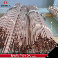ASTM B111 C44300 heat exchanger brass tube price