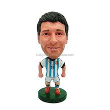 custom make mini plastic football player toy,customized design football player plastic toy figures
