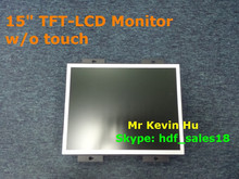 """optional touch screen, low cost 15"""" open frame industrial lcd monitor for atm, kiosk and medical devices"""