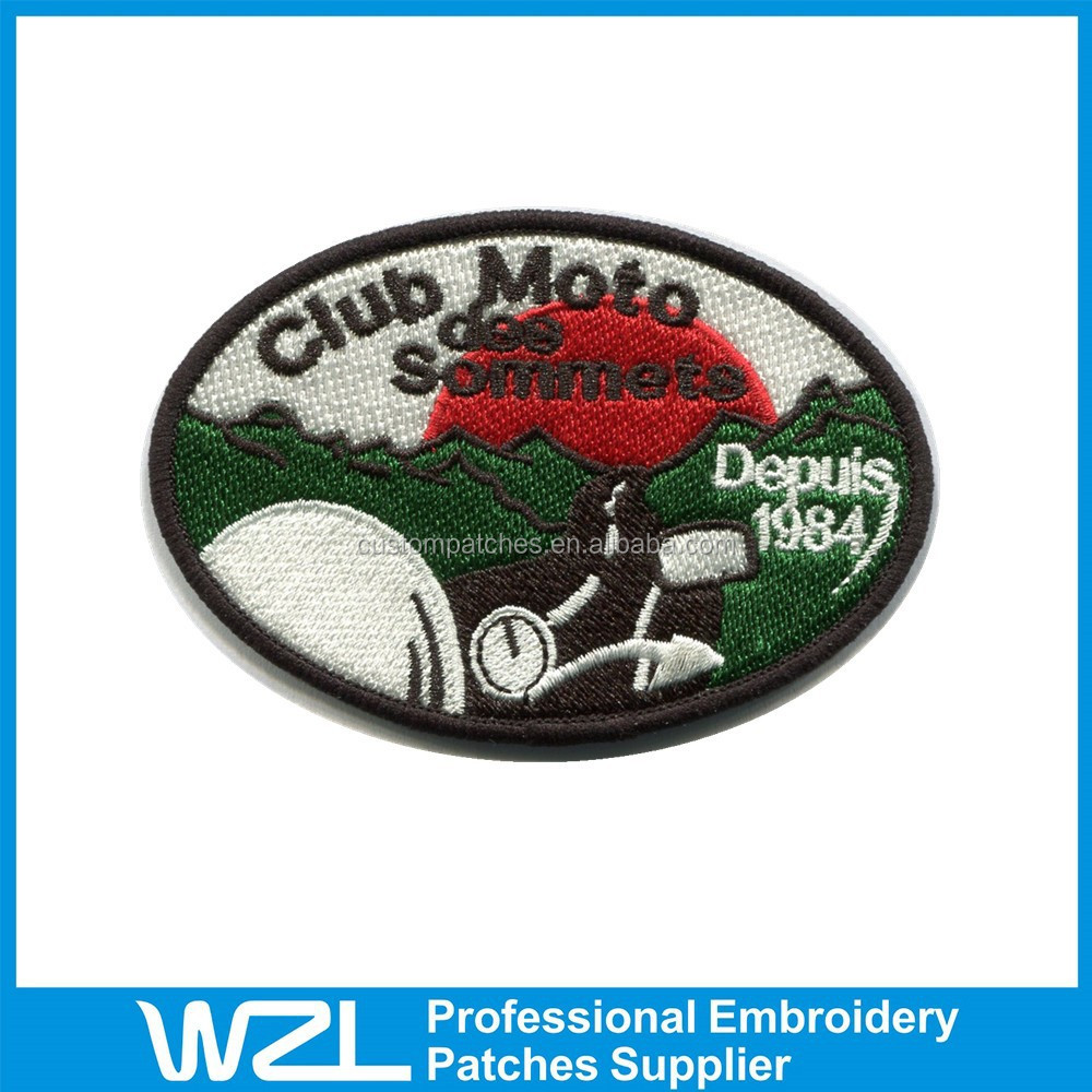 Fashion Design Embroidered Patches Patches For Letterman