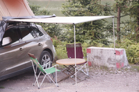 New Camping Outdoor gazebo spare parts awning /roof top tent with annex for sale