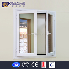 ROGENILAN 45 series aluminum alloy crank window with tough tempered glass
