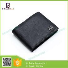 Wholesale Cheap Fashion design men's genuine leather travel wallet