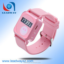 Newest design kids small gps watch tracker / tracking chips for sale