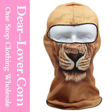 Fancy Halloween Lion Cool Motorcycle Facial Masks Wholesale