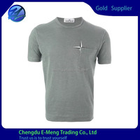 Wholesale High Quality Printed Custom Pocket T shirt for Men