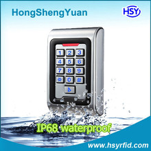 Completely Waterproof Smart Card RFID Access Control Keypad