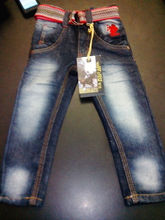 Boys Branded Denim Pant (Garment Stock lots / Apparel Stock / stocklots / Garment Apparel from Sri Lanka / Bangladesh)