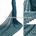 laço francês material vestuário projetos africano frisado esticada tecido de renda