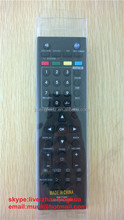 High QUality Mini Black 49 Buttons Remote Control RM-710R USE FOR LCD TV with Cheap price ZF supply dvd/ac/stb/dstv/dtv controls