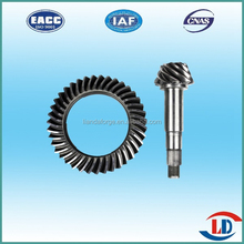 Transmission Parts of Bevel gear with arc teeth for bedford j6 truck--Anyang Forging