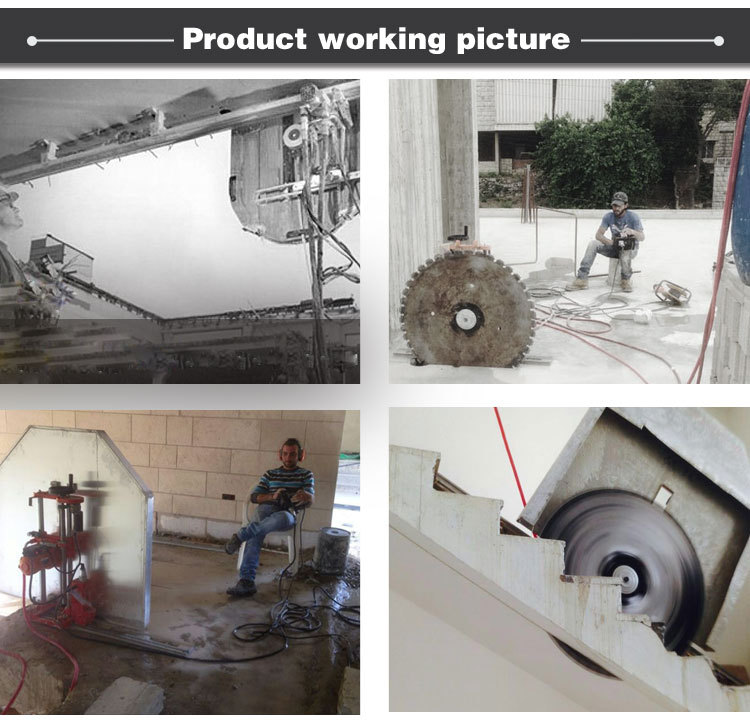 Concrete Wall Saw Equipment : Promoted electrical diamond concrete wall saw machine