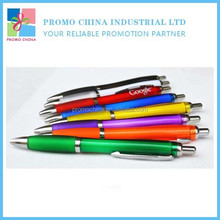 2015 Hot Selling Cheap Price Calabash Shape Plastic Promotional Gift Ball Pen