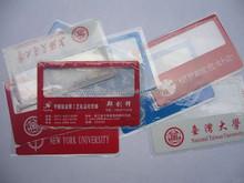 plastic magnifie credit card magnifier