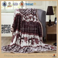 buy direct from mexico 100 polyester fleece blanket NZW093