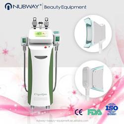 Hot sale!! 5 heads freeze fat rf cavitation lipo freeze equipment, salon use cryolipolysis fat freeze slimming machine for sale