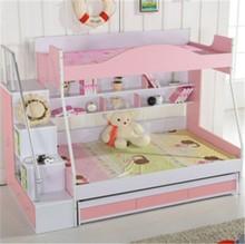 Hermoso diseño camas para los niños / camas con paso y antideslizante 2015