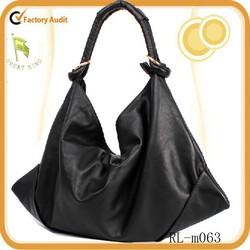 Wholesale women bag handmade leather hobo bag for lady