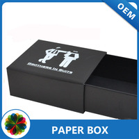 luxury hardcover packaging cardboard paper sleeve box printing