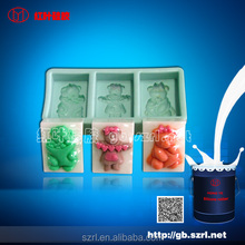 Christmas resin ornaments moulding RTV 2 silicone rubber