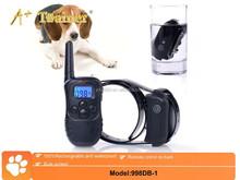 blue screen 330Y waterproof dog training collar,no bark dog collar,dog electronic shock training collar