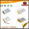 7.4 volt 3.7V 3900mah micro bluetooth lithium ion polymer battery
