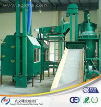 Resíduos placa PCB separação máquina de esmagamento