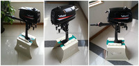 Water cooling outboard engine