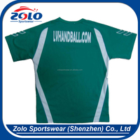 Custom sublimation printing polyester t shirts plain