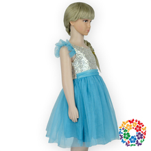 Fashion Design Small Girls Dress Kids Baby Birthday Party Dresses Frock For 1-6 Years Old Girls