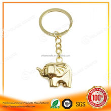 3D new design keyring custom metal keychain with promotional item
