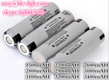 For power tools Lithium primary battery 3.7V 3200mAH NCR18650BE