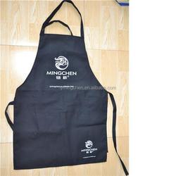 Wholesale Customize Long Black Garden Apron with Pocket